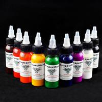OPHIR Body Paint 9 Colors Tattoo Ink Pigment 30ml High Quality Tattoo inks Set Make Art Supply #TA021