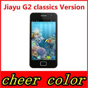 "Original Jiayu G2 G2F Phone Classics Version MTK6577 dual core 4GB ROM android 4.0 GPS WCDMA 3G GPS WIFI 4.0"" multi-touch white"