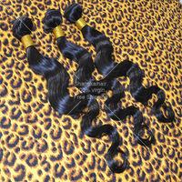 Malaysian Virgin Hair Body Wave 3pcs/lot Natural Black 5A Dyeable Hair Bundles Free Shipping Cheap Human Hair Weave Double Weft