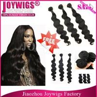 "Free shipping By DHL! 3pcs lot Aliexpress Hair 8""-28"" Body Wave Brazilian virgin Hair"