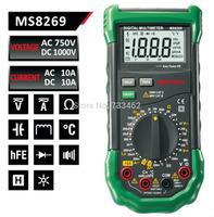 Mastech MS8269 3 1/2 Digital Multimeter LCR Meter AC/DC Voltage Current Resistance Capacitance Temperature Inductance Tester