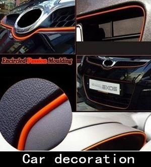 Decoração do carro Interior corpo aparar linha guarnição ventilação carro decoração de interiores Decoração artigo instrumento decoração da mesa(China (Mainland))