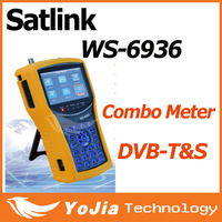 Original Satlink WS-6936 DVB-T&DVB-S Combo Meter with Spectrum Meter Satlink 6936  ws6936 meter 6936 finder free shipping