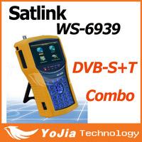 Original Satlink WS-6939 DVB-S&T Combo Meter Satlink 6939  ws6939 meter 6939 finder free shipping