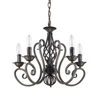 Wrought Iron Chandelier Vintage Antique Art Deco  Pendant Lamp Price  5*E12 LED Light