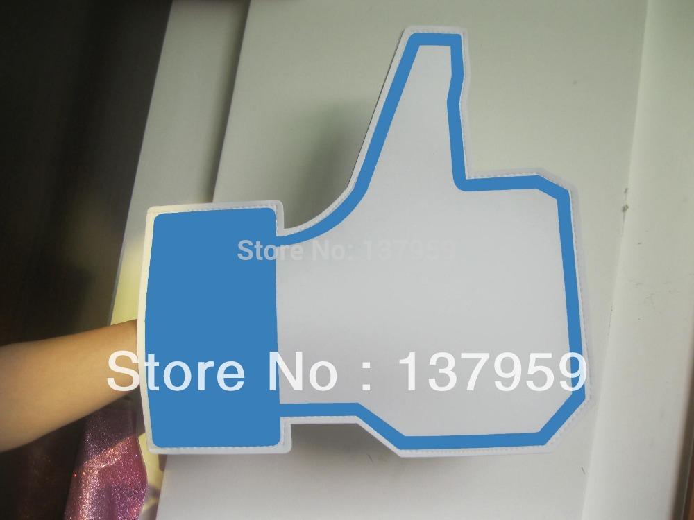 small order custom made thumb up LIKE EVA foam cheering hand foam finger(China (Mainland))