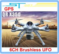 WALKERA QR X350 GPS Drone 6CH Brushless UFO with camera DEVO 7 DEVO F7 Transmitter RC Helicopter RTF BNF Free shipping 2013 new