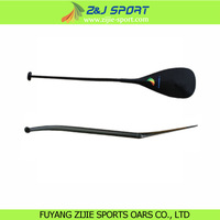 Oval Bent Shaft Full Carbon Fiber Outrigger Canoe Paddle