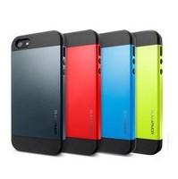SLIM ARMOR SPIGEN SGP Case For Apple iPhone 4 4S Hard Back Cover Luxury TPU Plastic Cases For iPhone4 i Phone 4 4S Wholesale