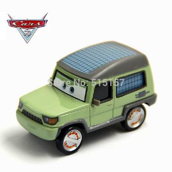 Pixar cars 2 Diecast Miles Axelrod Metal Toy Car Loose Racing toys 1:55
