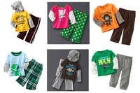 Boys Girls Cartoon Suits Children's Carter\s Clothing Sets For 1-5Yrs Baby Kids  2pcs Long Sleeved  Hoddies Pants18M 2T 3T 4T 5T