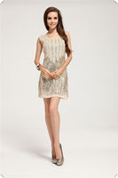 Free Shipping, wholesale dresses new fashion 2013, colorful dress wring sequins sheath evening dresses LM6021ES