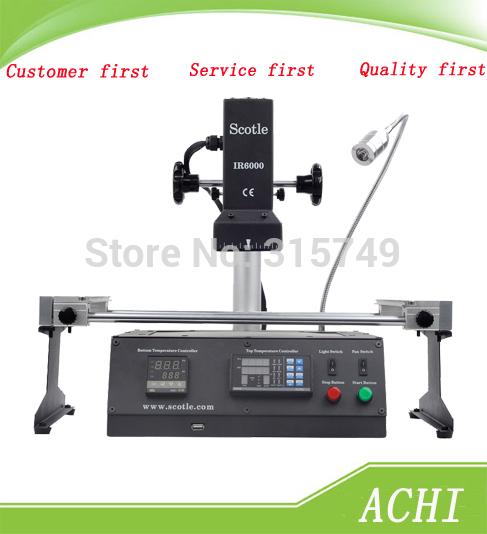 Промышленная машина 220V BGA Scotle IR6000 V4 Achi IR6000 BGA ly ir6000 upper heater bga rework station top heater for ir6000