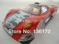1:10 R/C Car  PVC Body Shell 200mm 018B red /Blue  free shipping