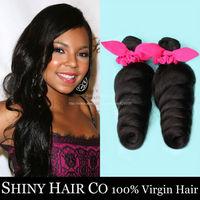 4 Bundles Malaysian Virgin Hair Loose Wave Natural Black 6A Unprocessed Human Hair Weave Wowigs Virgin Hair Rosa Hair Company
