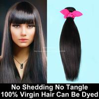 1 Bundle Malaysian Virgin Hair Straight Natural Black 6A Unprocessed Human Hair Weave Juliet Virgin Hair Modern Show Hair Wowigs