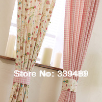 Rabbit derlook fluid rustic child real piaochuang curtain