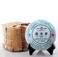 Buy 5 Get 1 2011 200g Mengsong Hill Alpine Arbor Early Spring Raw Puer/Pu Erh Tea Lowers Blood Pressure Care Green Pu Er/Pu'Er