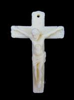 Bone carvings Crucifix of Jesus   Pendants Hanging ornaments  