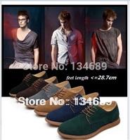big size 45 genuine leather brand platform For mens sneakers new 2013 shoes men casual discount online zapatos de hombre fashion