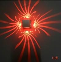 LED Modern Light Led Aluminum Wall Lamp Entranceway Night Wall Lights Ktv Engineering Lamp 3w 85-265v