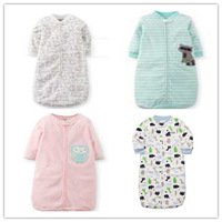 1pc Retail,Original Carters Baby Sleeping Bag, Baby Girls Boys Microfleece Sleepsacks, Free Shipping In Stock