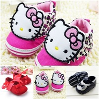 High quality 2014 fashion cartoon pattern casual baby toddler shoes 3 size children's shoes Free Shipping E64