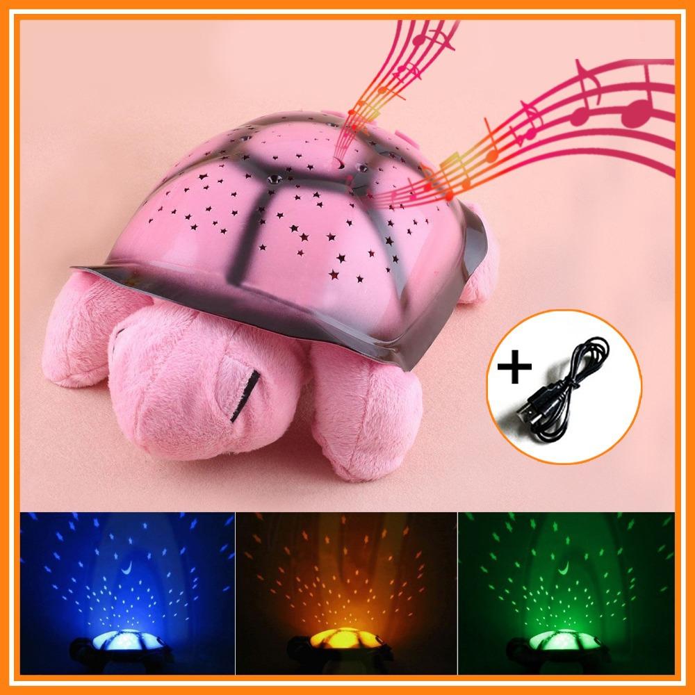 Детские игрушки черепаха ночник usb