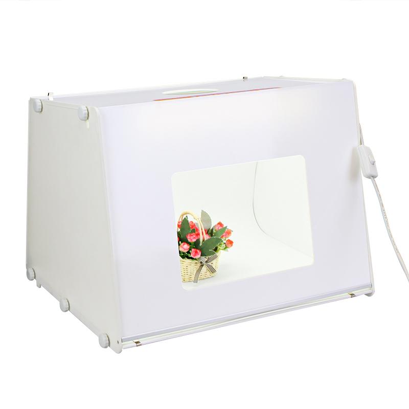 Free Shipping by DHL SANOTO Portable Mini Photo Studio Photography Light Box Photo Box MK50 For Network (EBAY) seller 220/110V(China (Mainland))