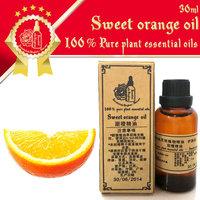 100% pure plant essential oils Brazilian imports Sweet Orange Essential Oil 30ml Antidepressant Antibacterial