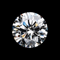 Moissanite loose Wholesale 0.50ct Round Cut Loose Moissanite tested as real CHARLES&COLVARD certificate synthetic diamond loose