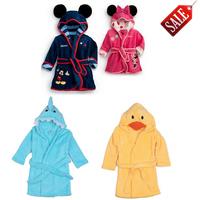 0-7yrs Autumn Baby Pajamas Bathrobe Pajamas Sleepwear Sleeper Baby Bathrobe Rompers Pajamas For Boys Girls Bathrobe For Kids 705