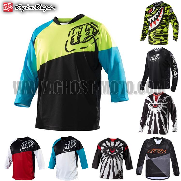 TLD Troy Lee Designs Ruckus maglie moto motocorss mtb dh bicicletta mountain bike ciclismo maglia mx fuori strada indossare indumenti