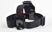 Elastic Headband GoPro Outdoor Camera Head Strap Mount For GoPro HD Hero 1/2/3,Size Adjustable,Anti-Skid,Free Shipping
