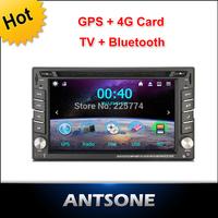 2 Din Car DVD Player GPS 3G/WIFI(optional) Bluetooth, Radio ,Stereo, Audio ,Media, FM,USB SD,rear camera,DVR for kia/hyundai