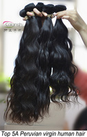 Queen hair products 5pcs lots,peruvian hair weave,virgin hair unprocessed,shedding and tangle free,shipping free