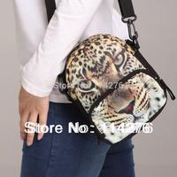 Leopard pattern printing multifunctional single shoulder bag cross boday bag , waist bag BBP101W