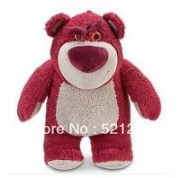 Free Shipping 1pcs 42cm Toy Story 3 Lotso Plush soft toys Strawberry Bear stuffed animals soft Toys for kids