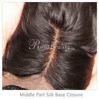 Silk Base Closure Brazilian Hair Body Wave 100% Human Hair Wigs No Sedding No Tangle With Shipping Free