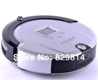 4 In 1 Super Multi Robot Vacuum Cleaner (Sweep,Vacuum,Mop,Sterilize),LCD,Touch Button,Schedule Work,Virtual Wall,Self Charge