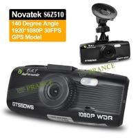 Original Shadow GT550WS Car DVR Camera 1080P Full HD Mini Video Recorder H.264 GPS Logger WDR Car Stamp Plate Camcorder O-15