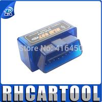 Super mini ELM327 Bluetooth obd2 Type Bluetooth elm327 V1.5 ELM 327 Support All OBD II Protoclos