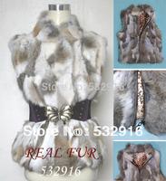 Real Fur Coats For Women Genuine Rex Rabbit Fur Jackets Natural Rabbit 100%Fur Winter Jacket Women Vest Women Coat Clothing M12