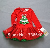 Kids Clothes Girls Christmas Tree Dress Tutu Dress Girl Christmas Costume