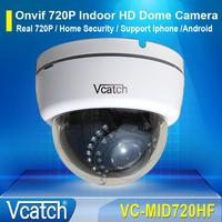 Vcatch Onvif 720P HD Mini Dome IP Cam 1.0MP Network CCTV Security Surveillance Camera IR Cut P2P Plug and Play VC-MID720HF