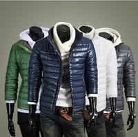 2013 Fashion men down Free shipping Men's coat Winter overcoat Outwear Winter jacket wholesale Men's Casual Coat,