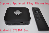 Android TV Box Dual-Core  Allwinner A20 Cortex-A7 Dual-Core 1.0GHz Smart TV Media Player With for Apple AirPlay Mirroring