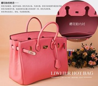 women handbag Euramerican style leather bag genuine leather embossed leather bags women
