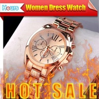 New Arrival 2014 Luxuxy Brand With Logo Roma Dial Casual Rose Gold Quartz Stainless Steel Women Dress Rhinestone Watches