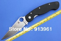 High Quality Spyderco C36 GPE Folding knife,Camping knife,Survival Knives With CPM- S30V blade G10 handle, FREE SHIPPING